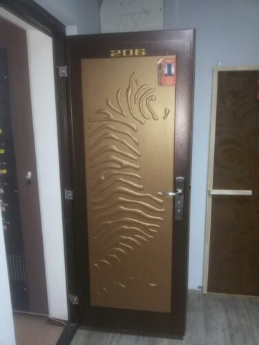 Дверь с 3D рисунком