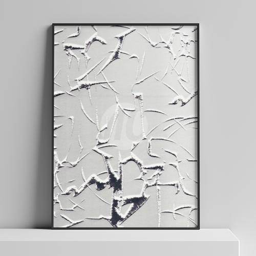 Зеркало Айс серебро