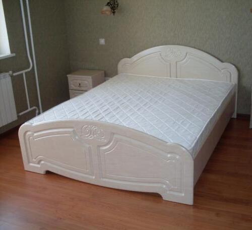 Кровать МДФ 4
