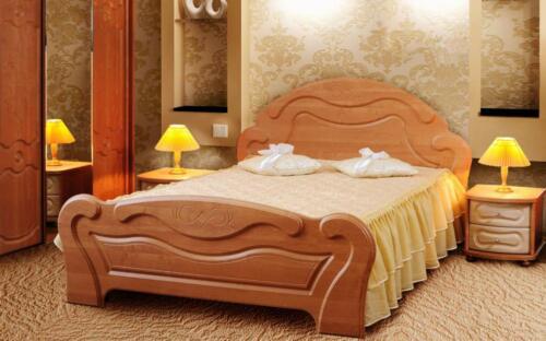 Кровать МДФ 5